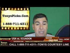 United States vs. Ecuador Pick Prediction Copa America Soccer Odds Preview