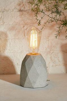 Prism Concrete Lamp