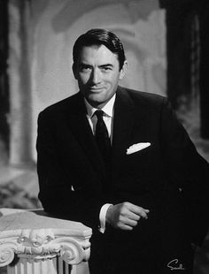 Gregory Peck.....Oh my my my