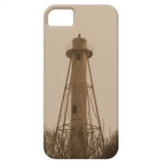 Boca Grande Rear light in Sepia iPhone 5 Covers