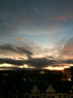 Black cloud vs Sun