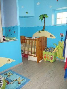 Tableau décoratif pirate pour chambre d'enfant