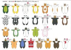 These are the sewing patterns. These are some kigurumi examples. For more help watch this video. Doll Clothes Patterns, Doll Patterns, Clothing Patterns, Sewing Patterns, Crochet Patterns, Doll Crafts, Diy Doll, Sewing Crafts, Sewing Projects