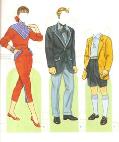 Paper doll book by Tom Tierney copyright 1994. Description from got-blogger.com. I searched for this on bing.com/images
