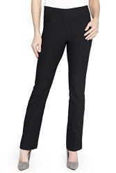 Rekucci Women's Ease In To Comfort Boot Cut Pants