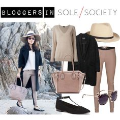 """""""Bloggers in Sole Society: Toshiko Shek of It's Not Her, It's Me"""" by solesociety on Polyvore"""