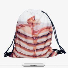 Cool Unisex Fashion Design 3D-Print Drawstring Backpacks 30 Designs