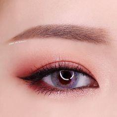 Trendy Makeup Korean Eyebrows Make Up - Trend Hair Makeup Korean 2019 Korean Makeup Tips, Korean Makeup Look, Korean Makeup Tutorials, Asian Eye Makeup, Eyebrow Makeup, Hair Makeup, Makeup Pro, Makeup Eyeshadow, Makeup Goals