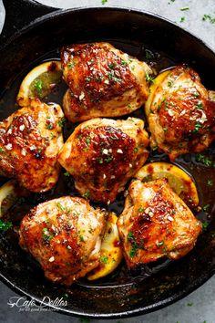 Make This Honey-Garlic Skillet Chicken ASAP — Delicious Links