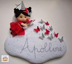 ♥♥♥ Uma fadinha das borboletas para a Apolline...