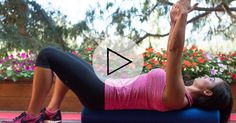 Foam rollers are great for relieving tight muscles, but you can also use them as part of your workout. Try this quick workout video to ease any soreness. Roller Workout, Workout Gear, Fun Workouts, At Home Workouts, Fitness Tips, Health Fitness, Foam Roller Exercises, Best At Home Workout, Home Exercise Routines