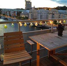 Bildresultat för belysning balkongräcke