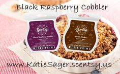 Get your bars here to have your home smell like Black Raspberry Cobbler - www.teresarausch.scentsy.us #BlackraspberryVanilla #VanillaWalnut
