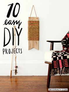 Ten Straightforward DIYs For Summer Break - http://www.decoracy.com/interior-decor/ten-straightforward-diys-for-summer-break.html