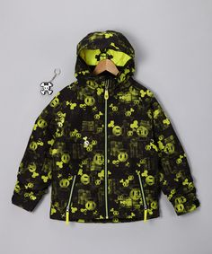 Take a look at this Paul Frank Green Acid Mix Insulated Jacket - Boys by On A Winter's Day: Outerwear & Gear on #zulily #fall