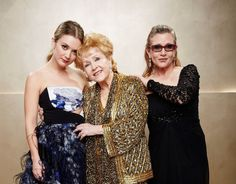 Debbie Reynolds and Carrie Fisher – in their own words and pictures