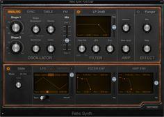 Create an Analog Hard-Sync Sound in Logic Pro X Retro Synth Logic Pro Tutorial, Digital Audio Workstation, Logic Pro X, Home Studio Music, Video X, Recorder Music, Audio Sound, Cool Things To Make, Garageband