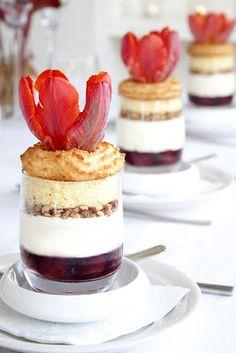 Life's a feast: FRANKFURTER KRANZ GATTINES (Cherry Cream Nut Parfait)