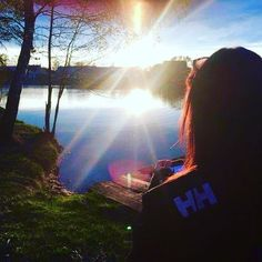 Beautiful view of the lake.  Photo from @ apiorko Instagram