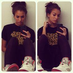 #chicsinkicks #girls and #jordans #sneakersandgirls