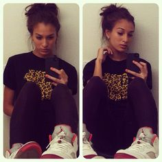 #chicsinkicks #girls and #jordans #sneakersandgirls