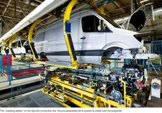 Mercedes-Benz Dusseldorf (Germany): Mercedes-Benz Factory where Sprinters are produced