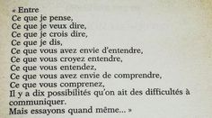 Citation de Bernard Weber entre ce que je pense et ce que je dis Best Quotes, Funny Quotes, Life Quotes, Message Positif, Quote Citation, French Quotes, Say More, Positive Vibes, Happy Life