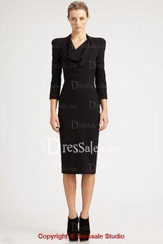 Cowl Neckline Sleeve for Elegant Sheath Graduation Dress Dresser, Bodice, Neckline, Dresses For Work, Formal Dresses, Nyx, Sheath Dress, Cowl, Graduation