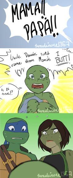 Uncle Donnie said... what? by Suzukiwee1357 on DeviantArt