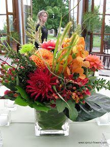 Worcester florists Centerpieces