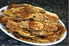 Crispy Zucchini Chips: 0 Points Plus Points Plus Recipes, Ww Recipes, Light Recipes, Clean Recipes, Vegetable Recipes, Microwave Recipes, Healthy Eating Recipes, Healthy Cooking, Recipes