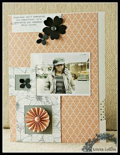 TERESA COLLINS DESIGN TEAM: Xyron and Teresa Collins Designs - Day 3 - Project by Keisha Campbell