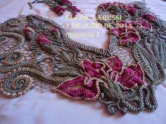 Irish crochet &: ELENA LARUSSI