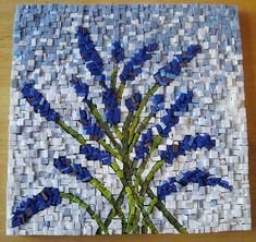 Smalti - amazing texture by Mosaic Kid Mosaic Artwork, Mosaic Wall Art, Mosaic Diy, Mosaic Garden, Mosaic Crafts, Mosaic Projects, Stained Glass Projects, Tile Art, Mosaic Tiles