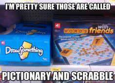 Those games look familiar…