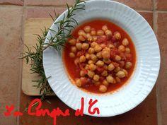 Soupe de pois-chiches à la tomate et romarin Chana Masala, Sauce Tomate, Or, Ethnic Recipes, Cream Soups, Vegetarian Protein Sources
