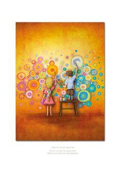 Dělej vše, jak nejlépe umíš Movie Posters, Painting, Ideas, Film Poster, Painting Art, Paintings, Painted Canvas, Thoughts, Billboard