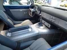 Custom Hot Rod Interiors 1957 ferrari hot rod sheetmetal design sheet metal console rivets