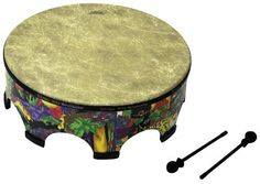 """Remo Kid's Gathering Drum - Large by Woodstock Percussion, Inc.. Save 57 Off!. $116.85. Remo's kid's gathering drum is durable, colorful and fun for all ages. Use the included mallets, or drum away with your hands. Made in the tradition of fine handcrafted ethnic instruments, with the welcome addition of pre-tuned heads. Perfect for children and adults, makes a welcome gift for any age. 22"""" diameter and 21"""" tall, large enough for 2 or more players, also available in a smaller size. A..."""