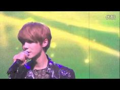 【Luhan focus】120618 LIVE Into Your World 你的世界 Angel fancam  he's ruining me right now...RUINING ME!!
