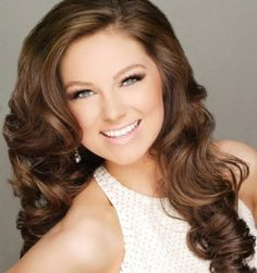 Miss Tennessee Teen USA 2013 Emily Suttle... i want hair like this!