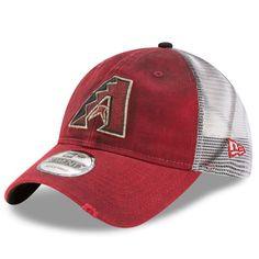 7a2d575a404 Arizona Diamondbacks New Era Team Rustic 9TWENTY Adjustable Hat - Red