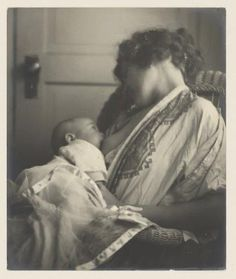 ryansmomaly:    How beautiful is this…Mother Breast-feeding her Baby, by Louis Fleckenstein, c. 1900.