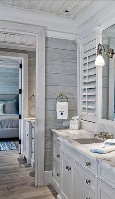 Addicted to Farmhouse Style yet? Either if you are or not, these 25 More Gorgeous Farmhouse Style Decoration Ideas for Our Home will make you Bad Inspiration, Bathroom Inspiration, Style At Home, Bathroom Renos, Master Bathroom, Master Baths, Small Bathroom, Modern Bathroom, Bathroom Renovations