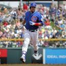 Cubs LF Schwarber hurt on Segura's inside-park HR (Yahoo Sports)