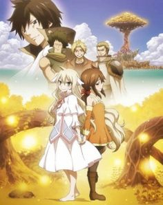 Fairy Tail Zero #NewAnime Many years ago, Mavis Vermilion was a servant on Sirius Island, mistreated by a guild master and his daughter, Zera. But Mavis stayed positive, because her mother once told her that fairies never visit people who cry about their problems. When the guild came under attack, Mavis pulled Zera from the wreckage into the forest. Seven years went by, and the powerful wizards Warrod Sequen, Precht, and Yuri Dreyer arrived on the island, seeking a powerful jade gemstone.