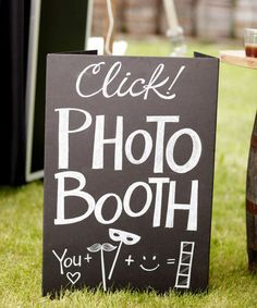 I love the idea of the the DIY photo booth pics but if you are having