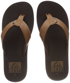 e07e801eb7ae Reef Men s Twinpin Sandal Brown 12 M US  fashion  clothing  shoes   accessories