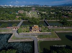 Imperial City, Hue  A look at Vietnam, from the sky | Travel | Thanh Nien Daily