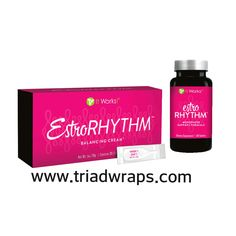 """Estro-Rhythm™ is the world's first naturally based, single-use daily system for menopausal symptoms. Its superior formulation uses natural ingredients to help you """"get your rhythm back"""" without the worries associated with synthetic solutions. •The world's first precise daily system of its kind  •Helps relieve menopausal symptoms  •Safe, effective, and and naturally based  •Simple, easy-to-use system"""